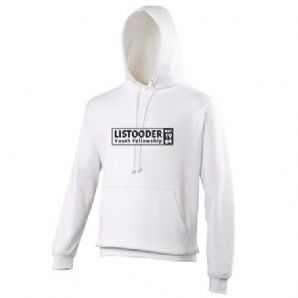 Listooder Hoodie Adults - Artic White 2018